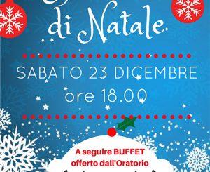Oratorio di Fregene, spettacolo di Natale il 23 dicembre