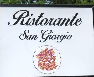 Ristorante San Giorgio, sabato 23 la festa di chiusura