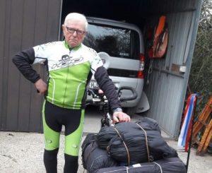 La grande accoglienza di Maccarese al ciclista Robert
