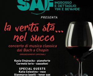 SAF e La Pantera Rosa, concerto di musica classica il 16 dicembre