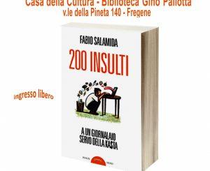 Alla Biblioteca Pallotta il libro di Fabio Salamida il 15 dicembre