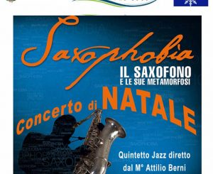 """""""Saxophobia"""", concerto di Natale il 15 dicembre"""