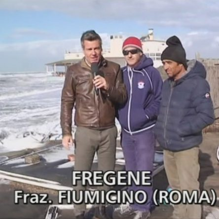 Erosione, Striscia la Notizia torna a Fregene Sud