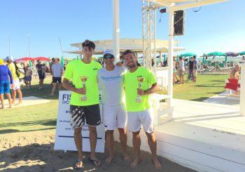 Asd Beach tennis Lazio, tornei al Sogno del Mare
