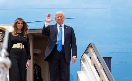 Arriva Donald Trump, piano sicurezza a Fiumicino