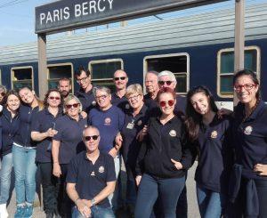 Unitalsi, il Treno Bianco tocca Parigi per la prima volta