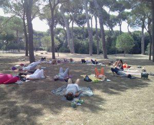 Yoga all'aria aperta, tante occasioni