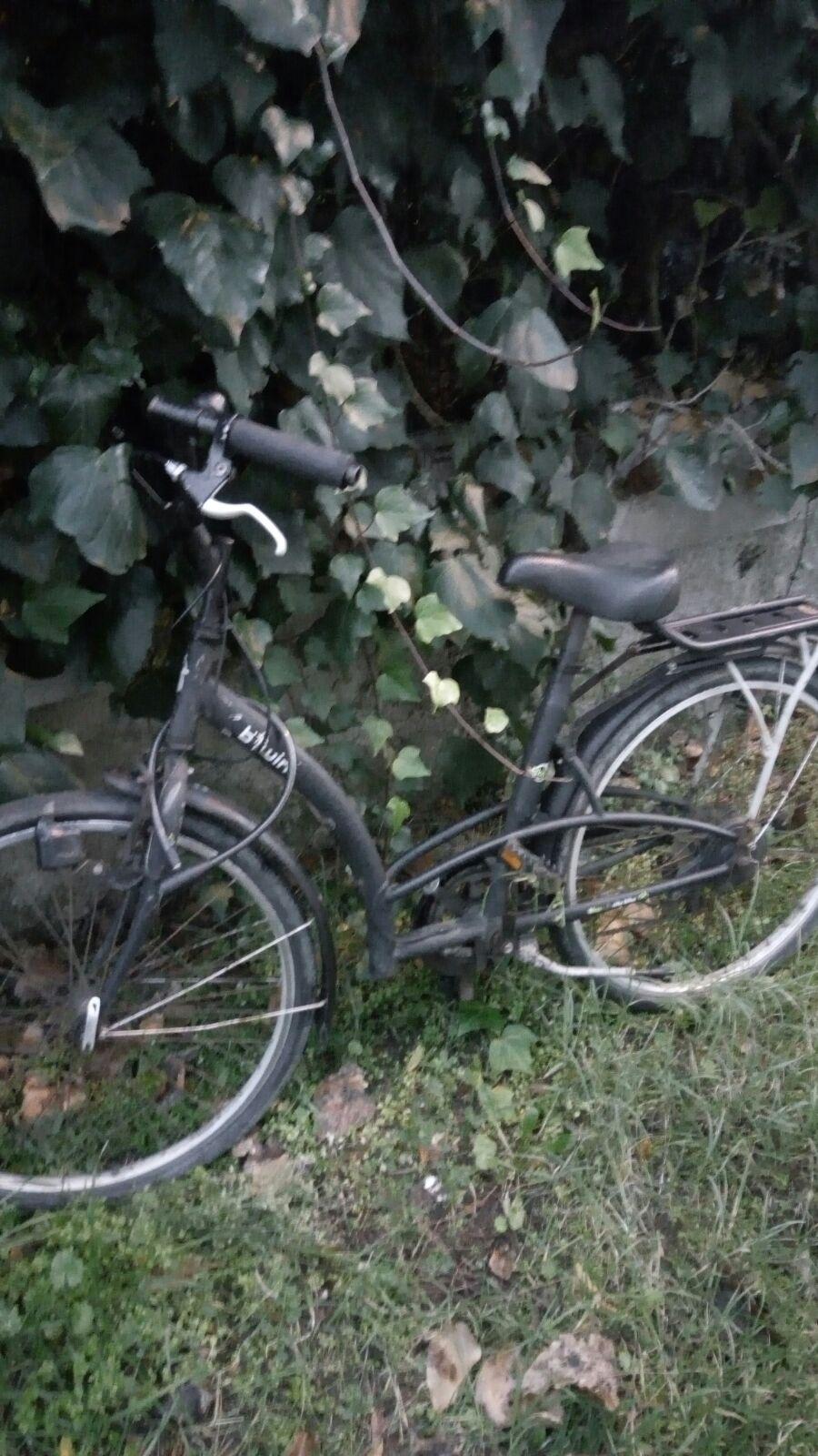 bici ritrovata via Giulianova