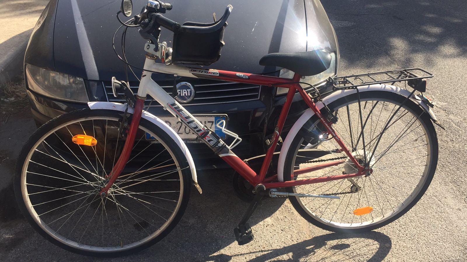 bici ritrovata