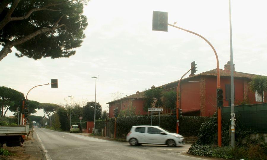 Viale di Porto, semaforo ko