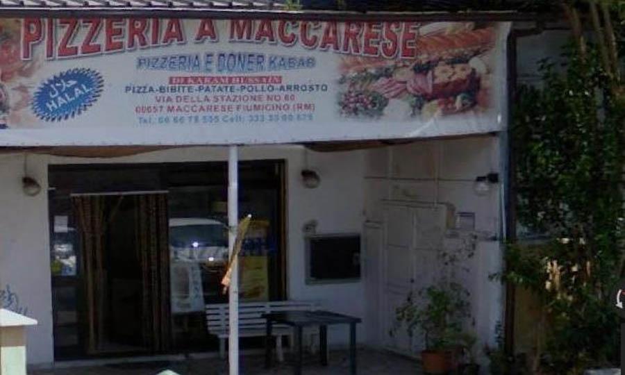 Pizzeria via Stazione di Maccarese chiusa dai carabinieri