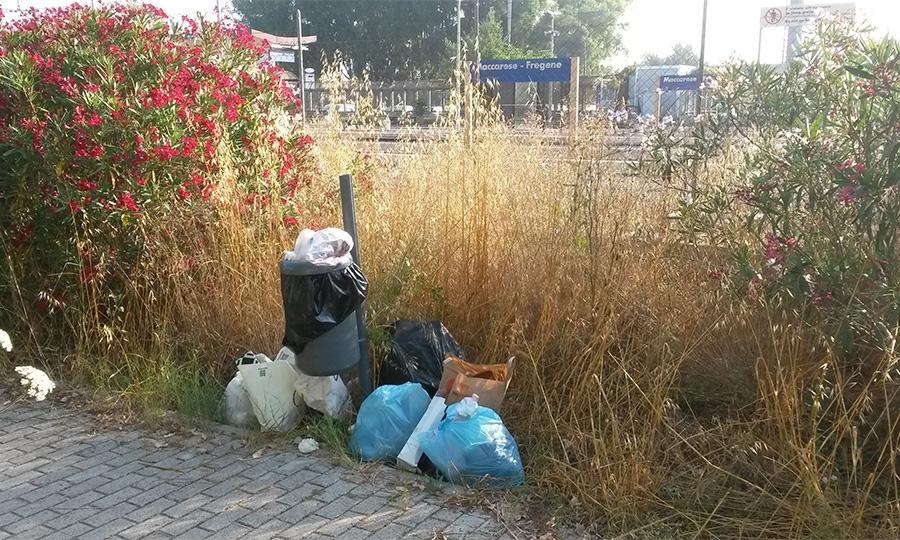 """I rifiuti danno il """"Benvenuto"""""""