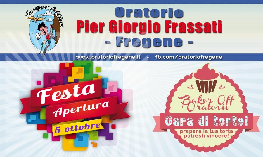 Il 5 ottobre festa di apertura per l'Oratorio