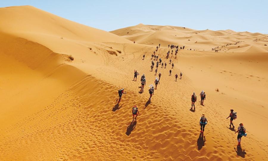 Il maratoneta del Sahara