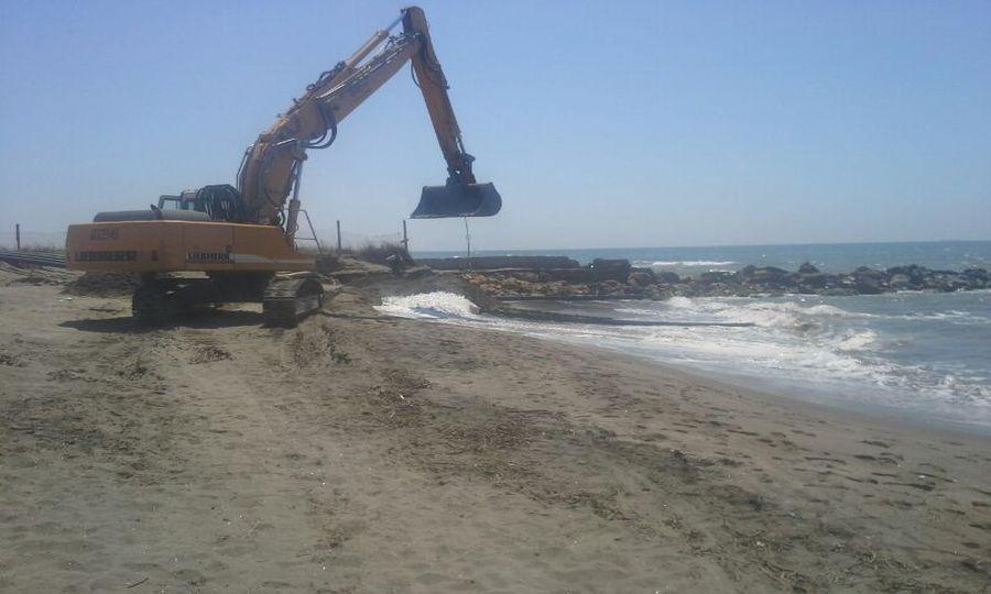 Erosione, senza spiaggia e senza mare