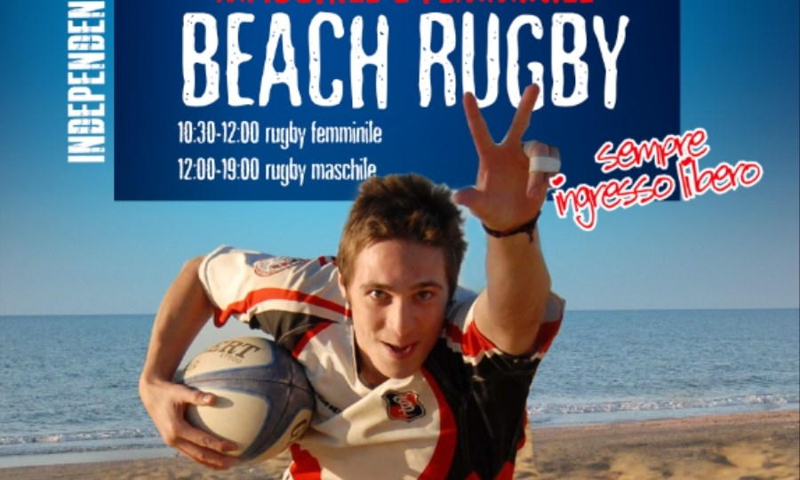 Beachrugby, il 4 luglio all'Hang Loose
