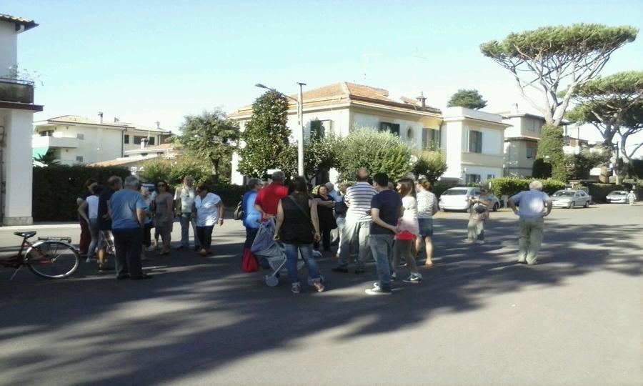 Cantiere, residenti tornano in strada