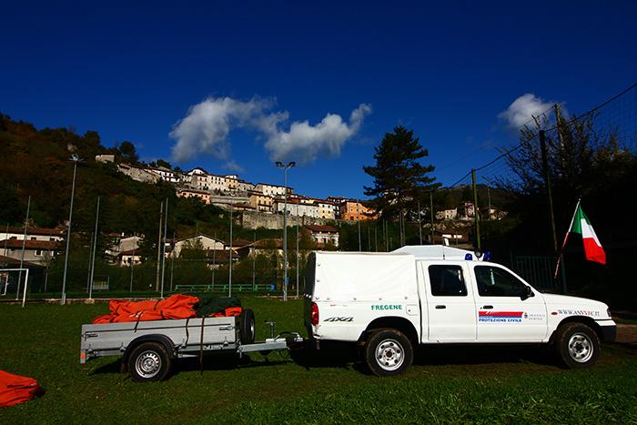 idrovora protezione civile