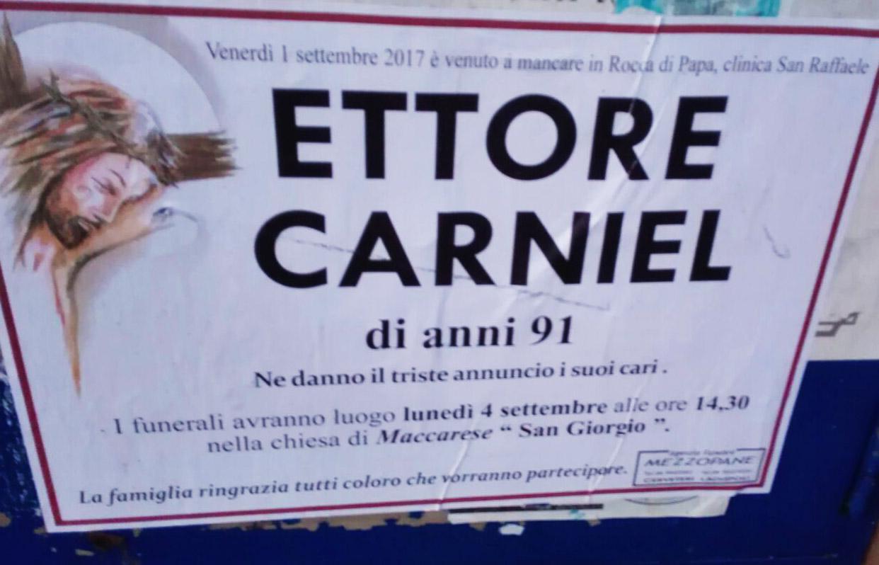Ettore Carniel