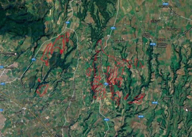 mappa discariche k
