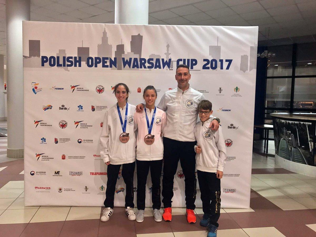 medaglie Varsavia taekwondo