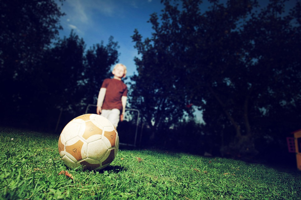 pallone bambino