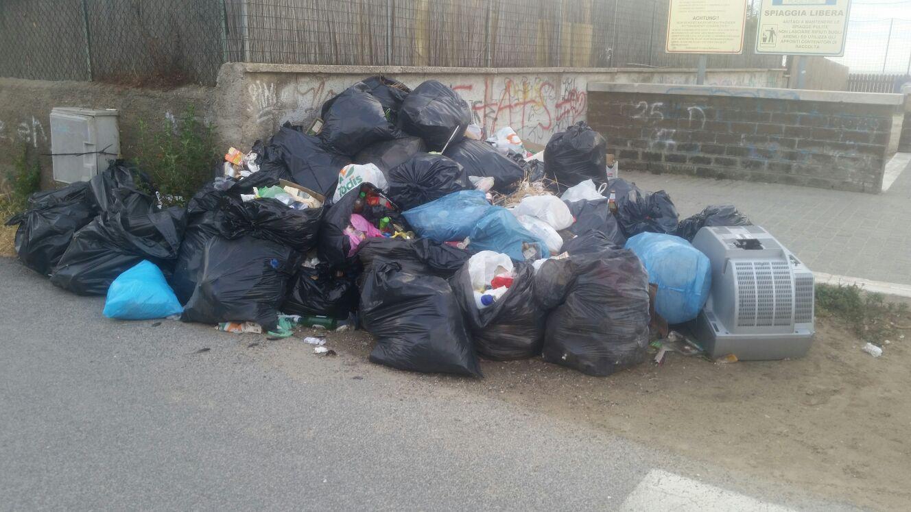 rifiuti Passoscuro