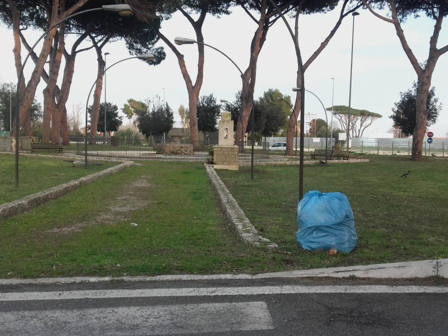 rifiuti fontana