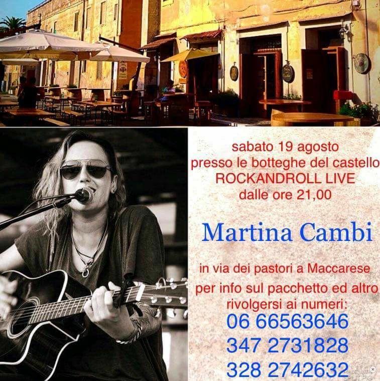 rocknroll live botteghe castello