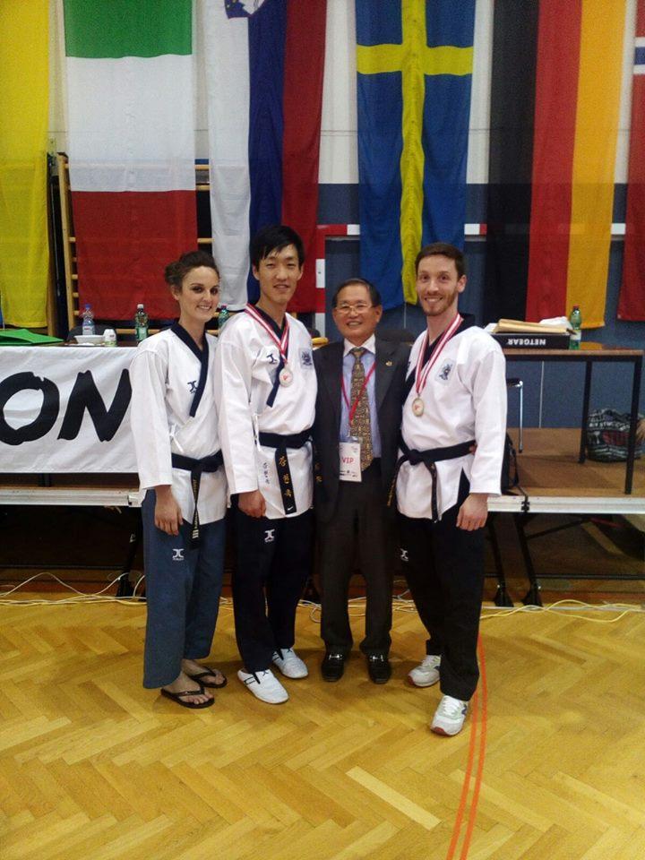 taekwondo oro massimiliano