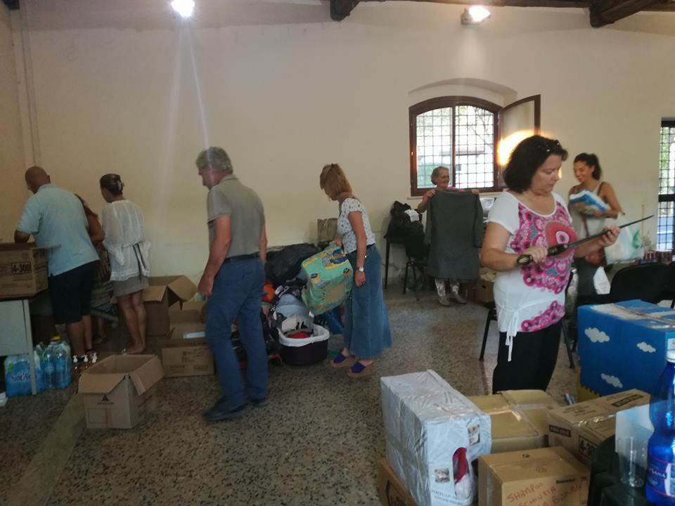 terremoto volontari consulte comunali Fiumicino